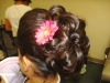 Updo with Flowers 5
