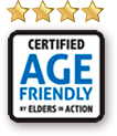 Rating a 4 of 5 stars from Age Friendly